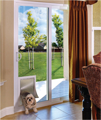 Replacement Patio Doors With Pet Entry United Builder